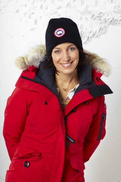 Singer Chantal Kreviazuk in the Montebello Parka