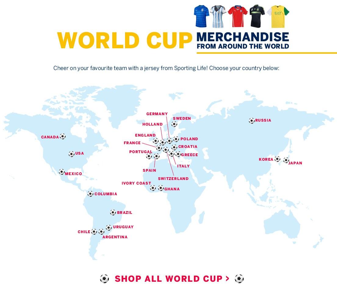 World Cup Shop