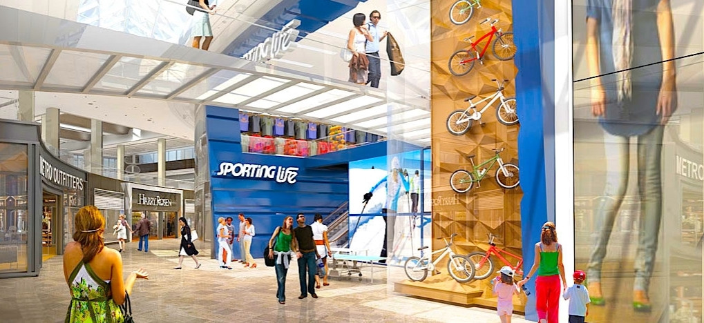 Sporting Life Sherway Gardens Expansion