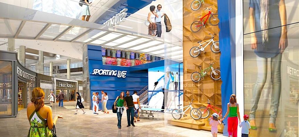 Sporting Life Sherway Gardens Expansion