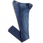 Mavi Women's Adriana Mid-Rise Super Skinny Jean