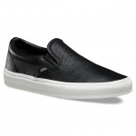 Vans Women's Embossed Leather Classic Slip-On