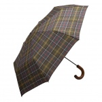 Barbour Tartan Telescopic Umbrella