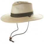 Men's Wide Brim Mesh Safari Hat