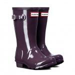 Hunter Juniors' [13K-5] Original Gloss Rain Boot