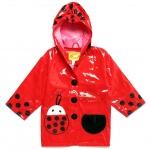 Kidorable Kids' [2T-7] Ladybug Raincoat