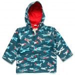 Hatley Boys' [2-8] Fighter Planes Raincoat
