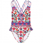 Nanette Lepore Women's Antigua Goddess One-Piece Swimsuit