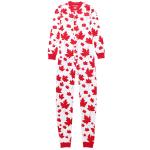 Hatley Kids' [2-14] Maple Leaves Union Suit