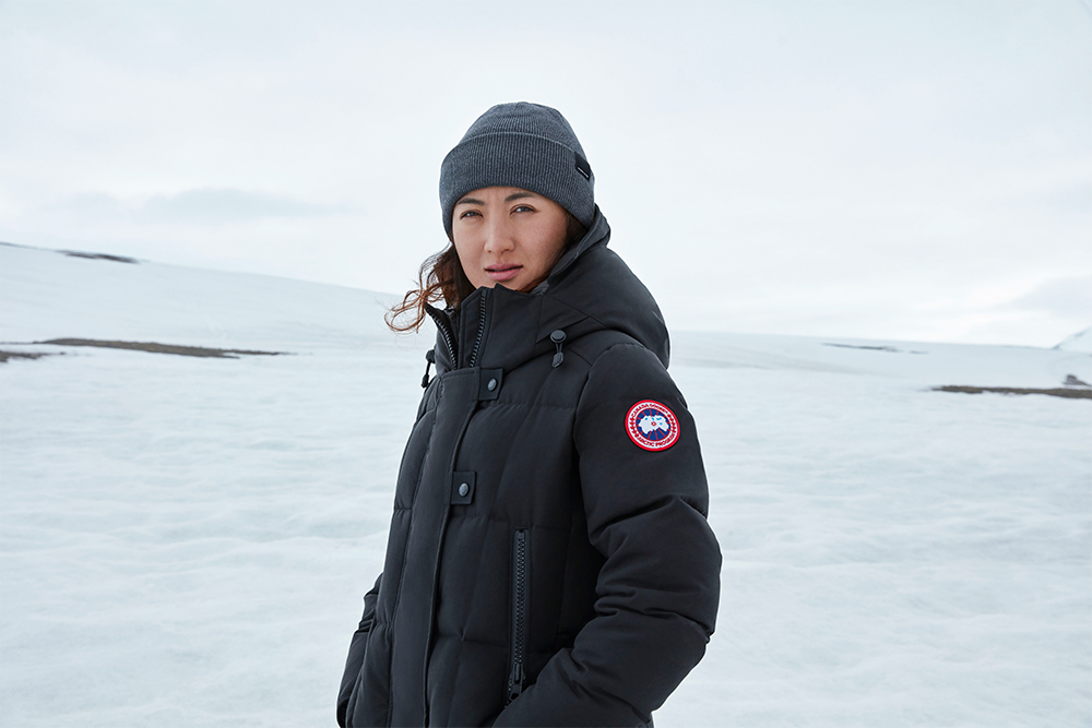 Canadian outerwear brand Canada Goose