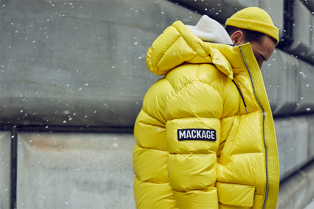Canadian outerwear brand Mackage